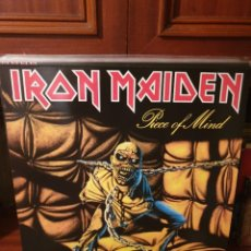 Disques de vinyle: IRON MAIDEN / PIECE OF MIND / NOT ON LABEL. Lote 219507853