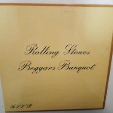 Discos de vinil: THE ROLLING STONES- BEGGARS BANQUET - SPAIN LP 1970 - VINILO COMO NUEVO.. Lote 219508643