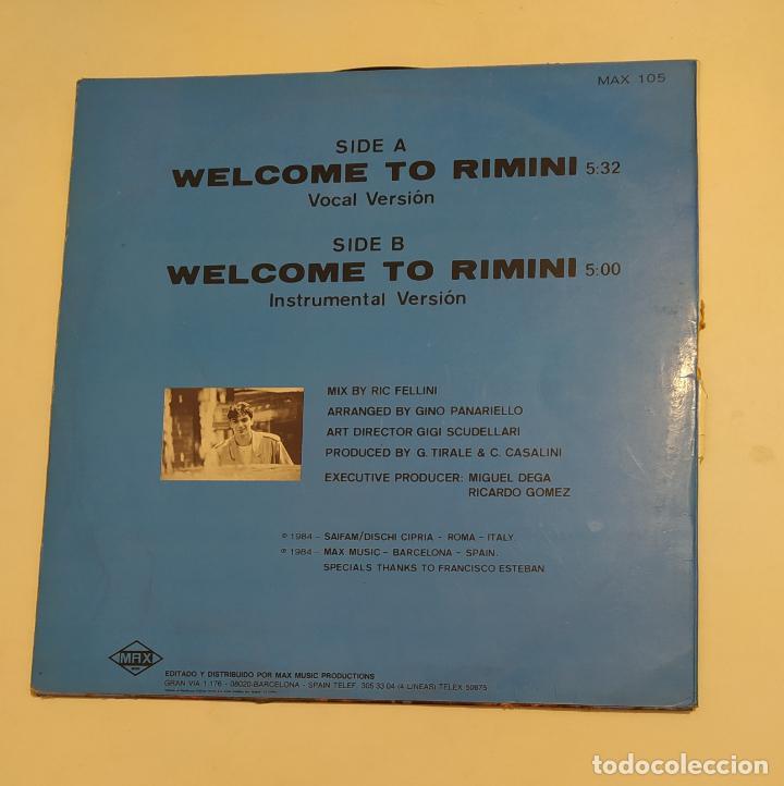 Discos de vinilo: RIC FELLINI. - WELCOME TO RIMINI. TDKDA75 - Foto 3 - 219511591