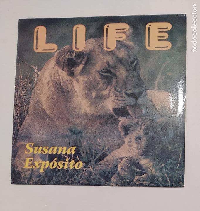 SUSANA EXPÓSITO. - LIFE. MAXI SINGLE. TDKDA75 (Música - Discos de Vinilo - Maxi Singles - Solistas Españoles de los 70 a la actualidad)