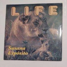 Discos de vinilo: SUSANA EXPÓSITO. - LIFE. MAXI SINGLE. TDKDA75. Lote 219513261