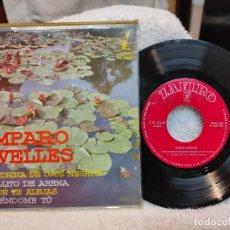 Discos de vinilo: AMPARO RIVELLES / EPE GOLONDRINA DE OJOS NEGROS 1962. Lote 219520567