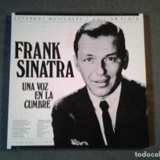 Discos de vinilo: FRANK SINATRA -UNA VOZ EN LA CUMBRE- BOX 3 LPS ( CIRCULO DE LECTORES) LEYENDAS MUSICALES. Lote 219523007
