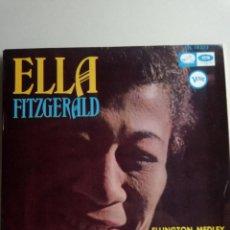 Discos de vinilo: ELLA FITZGERALD.THE GIRL FROM IPANEMA Y 3 MAS. Lote 219524360