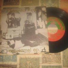 Discos de vinilo: MANTA RAY - ESCUEZME! FORCED NACHO VEGAS ( 1994-SUBTERFUGE)+ENCARTE OG XIXON PLAZA GUETU CACTUS. Lote 219526887