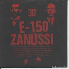 Discos de vinilo: E-150* / ZANUSSI – DEJEMOS EL PESIMISMO PARA TIEMPOS MEJORES EP 2001. Lote 219527367