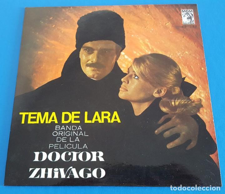 EP / TEMA DE LARA BANDA ORIGINAL DE LA PELICULA DOCTOR ZHIVAGO, (Música - Discos de Vinilo - EPs - Bandas Sonoras y Actores)
