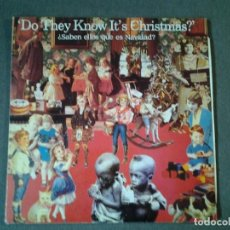 Discos de vinilo: BAND AID -DO THEY KNOW IT'S CHRISTMAS- MAXI-SINGLE 45RPM VICTORIA 1984 ED. ESPAÑOLA VIC-208 20.653. Lote 219529023