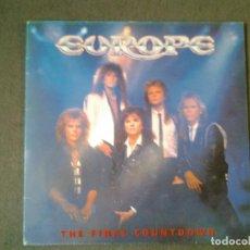 Discos de vinilo: EUROPE -THE FINAL COUNTDOWN- LP EPIC 1986 ED. ESPAÑOLA EPC 26808 MUY BUENAS CONDICIONES. Lote 219531167