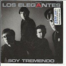 Disques de vinyle: LOS ELEGANTES SG ZAFIRO 1986 SOY TREMENDO/ NADIE COMO TU MOD SOUL POP. Lote 219531525