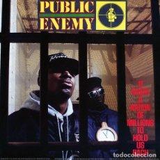 Discos de vinilo: PUBLIC ENEMY LP IT TAKES A NATION OF MILLIONS TO HOLD US BACK REEDICION VINILO. Lote 219533997