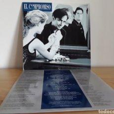 Discos de vinilo: DISCO VINILO LP EL COMPROMISO, AUTÓGRAFOS. Lote 219553207
