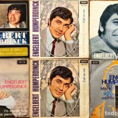 Dischi in vinile: LOTE 6 SINGLES ENGELBERT HUMPERDINCK. Lote 219555257