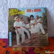 Discos de vinilo: JOTAS NAVARRAS-FAICO Y JOSEFINA. Lote 219559982