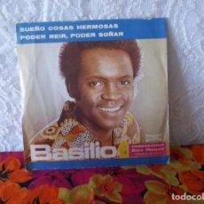 Discos de vinilo: BASILIO-SUEÑO COSAS HERMOSAS-PODER REIR PODER SOÑAR. Lote 219560265