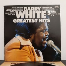 Discos de vinilo: BARRY WHITE'S GREATEST HITS. CASABLANCA. 1975. SPAIN... Lote 219563962