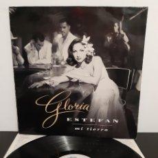 Discos de vinilo: GLORIA ESTEFAN. MI TIERRA. EPIC. 1993. SPAIN.. Lote 219564331