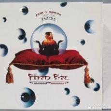 Discos de vinilo: MAXI SINGLE. JAM & SPOON FEATURING PLAVKA. FIND ME. Lote 294973158