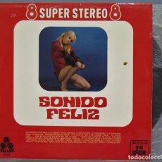 Discos de vinilo: LP. SONIDO FELIZ. 8 SUPER STEREO 8. Lote 219579043