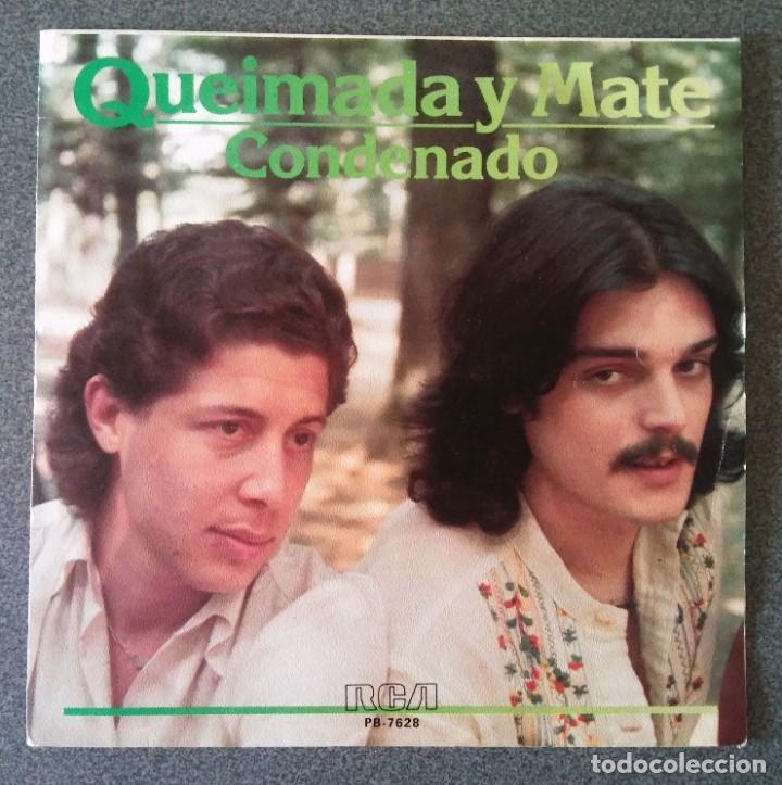 VINILO EP QUEIMADA Y MATE (Música - Discos de Vinilo - EPs - Grupos Españoles de los 70 y 80)