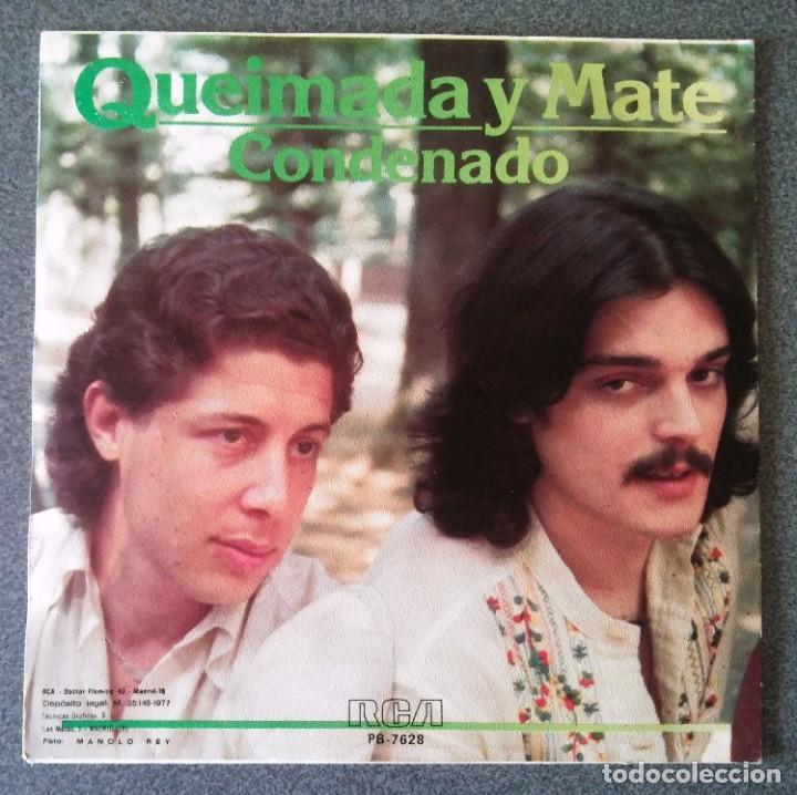 Discos de vinilo: Vinilo Ep Queimada y Mate - Foto 3 - 219584162