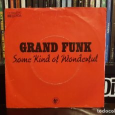 Dischi in vinile: GRAND FUNK - SOME KIND OF WONDERFUL. Lote 219592342
