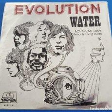 Discos de vinilo: SINGLE / EVOLUTION, WATER, DIMENSIÓN ?– 4003 - B, 1970. Lote 219597985