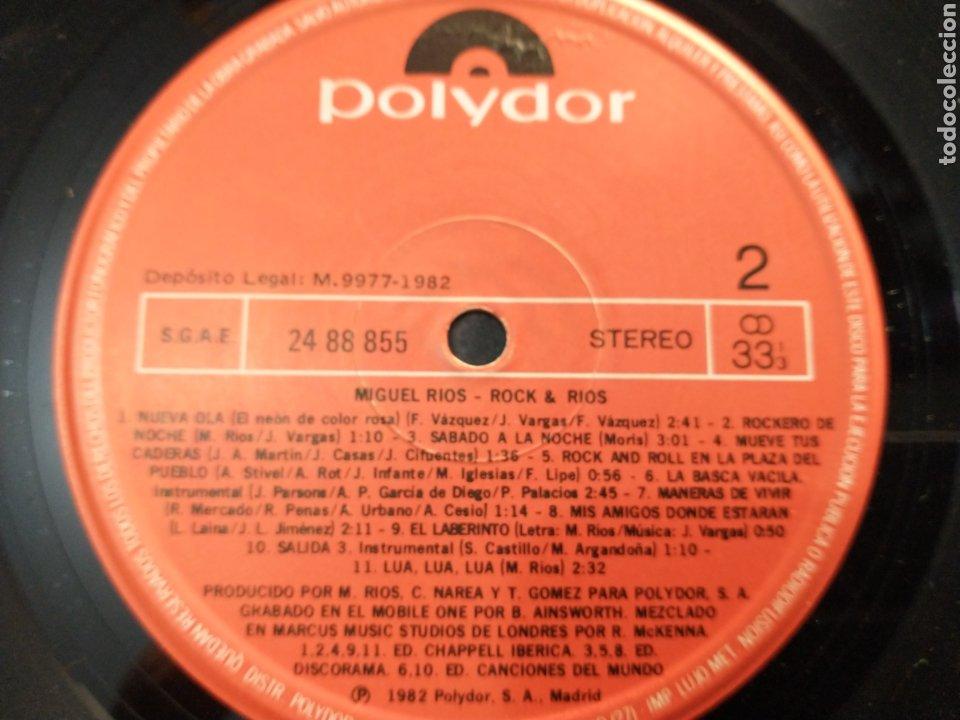 Discos de vinilo: Miguel Ríos doble LP - Foto 4 - 219599162