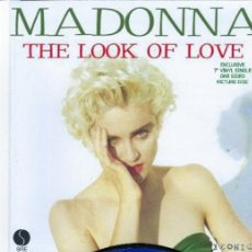 Discos de vinilo: MADONNA 7 INCH VINYL LOOK OF LOVE UNIQUE PICTURE SLEEVE ONE SIDED PICTURE DISC.. Lote 219607716