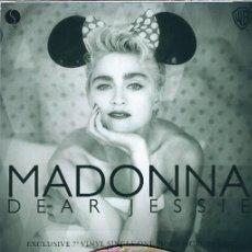 Discos de vinilo: MADONNA 7 INCH VINYL DEAR JESSIE UNIQUE PICTURE SLEEVE ONE SIDED PICTURE DISC.. Lote 249019045