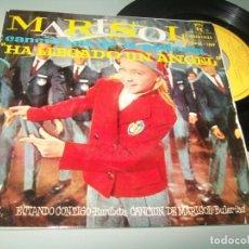 Disques de vinyle: MARISOL - HA LLEGADO UN ANGEL ..EP DE 1961 ESTANDO CONTIGO - BULERIAS B.S.O . + 3. Lote 219608005