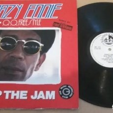 Discos de vinilo: CRAZY EDDIE & Q.Q. FREESTYLE / JUMP THE JAM / MAXI-SINGLE 12 INCH. Lote 219612877