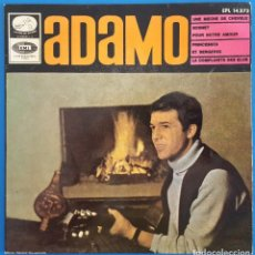 Discos de vinilo: EP / ADAMO, UNE MECHE DE CHEVEUX, LA VOZ DE SU AMO ?– EPL 14.273, 1966. Lote 219615198