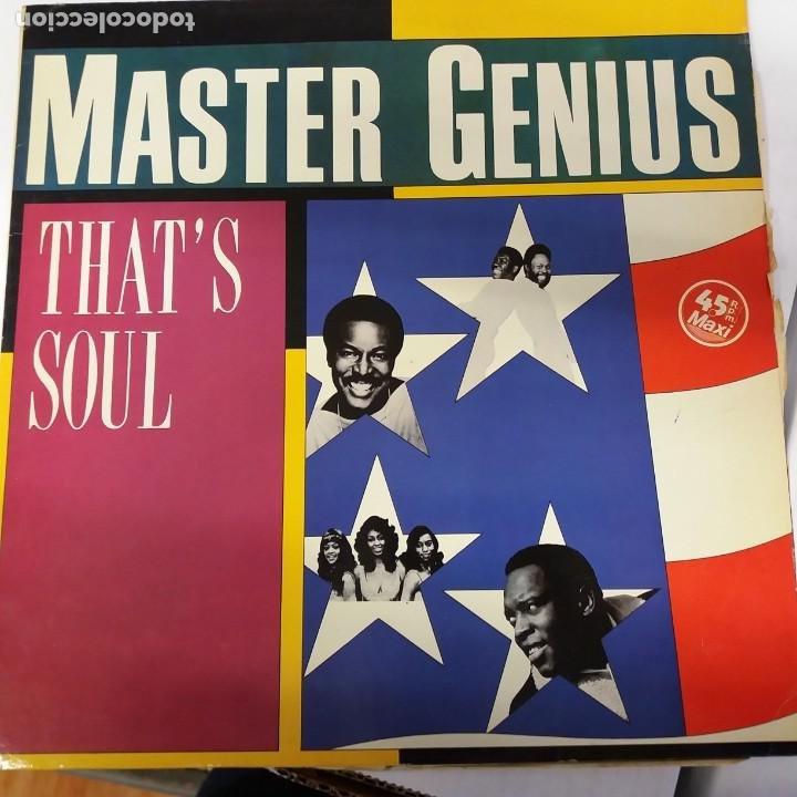MASTER GENIUS MAXI SINGLE 45 RPM (Música - Discos de Vinilo - Maxi Singles - Solistas Españoles de los 70 a la actualidad)