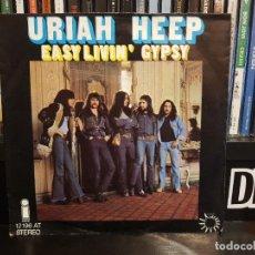 Discos de vinilo: URIAH HEEP - EASY LIVIN' / GYPSY. Lote 219623917