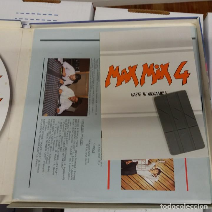 Discos de vinilo: MEGA MIX 4 Doble LP con caja y regalos. - Foto 3 - 219624361