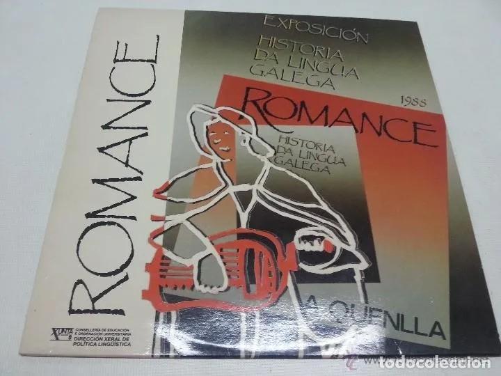 A QUENLLA - ROMANCE. SONS GALIZA. GALICIA (Música - Discos - LP Vinilo - Country y Folk)