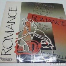 Discos de vinilo: A QUENLLA - ROMANCE. SONS GALIZA. GALICIA. Lote 219628760