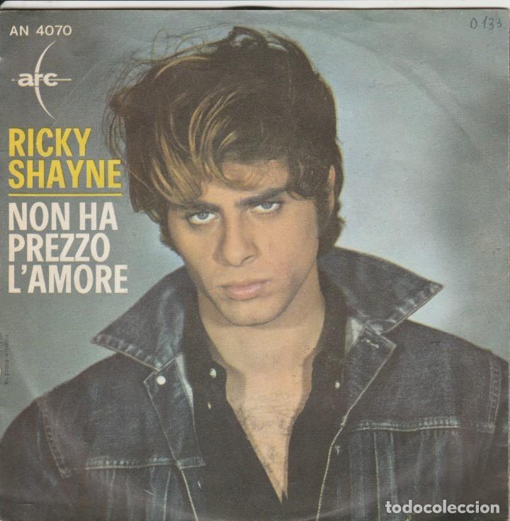 45 GIRI RICKY SHAYNE VI SALUTO AMICI MODS /NON HA PREZZO L'AMORE ARC ITALY AN 4070 (Música - Discos de Vinilo - Maxi Singles - Canción Francesa e Italiana)