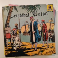 Dischi in vinile: NTC CRISTOBAL COLON 1959 ODEON SPAIN SINGLE VINILO COLOR ROJO. Lote 219633182