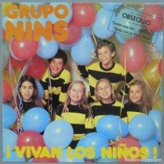 Discos de vinilo: LP. GRUPO NINS. VIVAN LOS NIÑOS. Lote 219639371