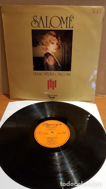SALOMÉ / LES NOSTRES CANÇONS / LP - OLYMPO-1974 / MBC. ***/*** (Música - Discos - LP Vinilo - Solistas Españoles de los 70 a la actualidad)