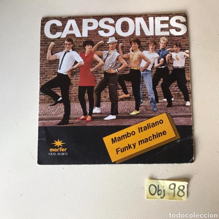 CAPSONES (Música - Discos - Singles Vinilo - Otros estilos)