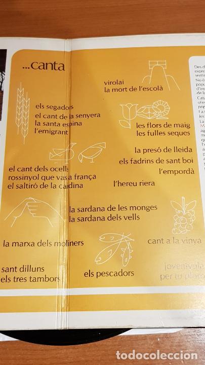 Discos de vinilo: SOCIETAT CORAL LA UNIÓ MANRESANA / VEU I SENTIR DUN POBLE / DOBLE LP-GATEFOLD - MARFER / MBC. *** - Foto 4 - 219648967