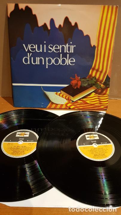 SOCIETAT CORAL LA UNIÓ MANRESANA / VEU I SENTIR D'UN POBLE / DOBLE LP-GATEFOLD - MARFER / MBC. *** (Música - Discos - LP Vinilo - Country y Folk)