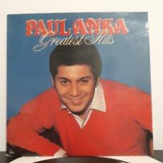 Discos de vinilo: PAUL ANKA GREATEST HITS. BELGUIUM.. Lote 219661106