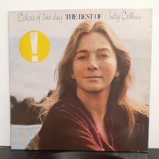 Discos de vinilo: JUDY COLLINS. COLOURS OF THE DAY. ELEKTRA. 1972. GERMANY.. Lote 219668076