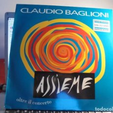 Discos de vinilo: RAR 2 LP 33. CLAUDIO BAGLIONI. ASSIEME. Lote 219672437