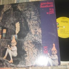 Discos de vinilo: KING CRIMSON,GORDON HASKELL / IT IS AND IT ISN'T (ATCO1971) RARE ORIG. USA. Lote 219677040