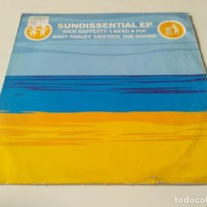 Discos de vinilo: NICK RAFFERTY / ANDY FARLEY ?– SUNDISSENTIAL EP. Lote 219683035